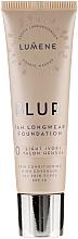 Perfumería y cosmética Base de maquillaje de larga duración - Lumene Blur 16H Longwear Foundation SPF15 2 Soft Honey