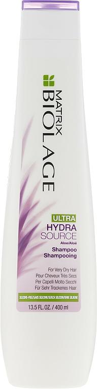 Champú hidratante con aceite de albaricoque - Biolage Ultra Hydrasource Shampoo — imagen N1