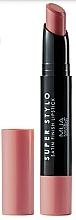 Perfumería y cosmética Barra de labios, acabado satinado - MUA Academy Super Stylo Satin Finish Lipstick