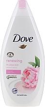 Perfumería y cosmética Gel de ducha con peonía & aceite de rosa - Dove Renewing Shower Gel