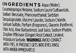 Champú con extracto de jengibre, aroma a elemi y ginseng - Hawkins & Brimble Elemi & Ginseng Shampoo — imagen N3