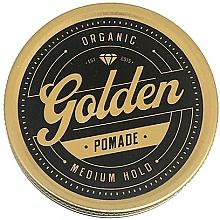 Perfumería y cosmética Pomada de cabello, fijación media - Golden Beards Golden Pomade