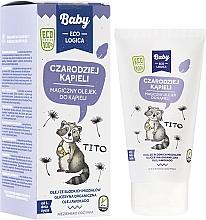 Perfumería y cosmética Aceite de ducha a base de aguacate, almendra, albaricoque y avena - Baby EcoLogica Bath Oil