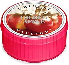 Perfumería y cosmética Vela de té aromática, manzana dorada - Kringle Candle Gilded Apple Daylight