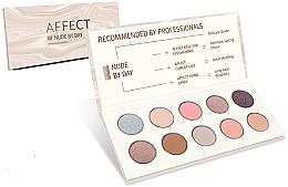 Perfumería y cosmética Paleta de sombras de ojos - Affect Cosmetics Nude By Day Eyeshadow Palette