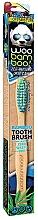 Perfumería y cosmética Cepillo dental suave con madera de bambú, verde y azul - Woobamboo Toothbrush Zero Waste Adult Bamboo Soft Bristle