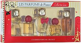 Perfumería y cosmética Charrier Parfums Collection Luxe - Set mini (eau de parfum/9.4ml + eau de parfum/9.3ml + eau de parfum/12ml + eau de parfum/8.5ml + eau de parfum/9.5ml)