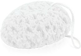 Perfumería y cosmética Esponja de baño 6009, ovalada, blanca - Donegal Bath Sponge