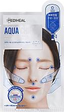 Perfumería y cosmética Mascarilla facial de tejido con extractos de árbol del té & jojoba - Mediheal Aqua Chip Circle Point Mask