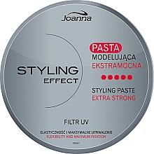 Perfumería y cosmética Pasta moldeadora de fijación extra fuerte con UV filtros - Joanna Styling Effect Styling Paste Extra Strong