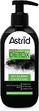 Perfumería y cosmética Gel limpiador micelar con carbón activo, complejo hidratante - Astrid Citylife Detox