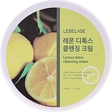 Perfumería y cosmética Crema detox de limpieza facial con extracto de limón - Lebelage Lemon Detox Cleansing Cream