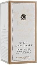 Perfumería y cosmética Sérum contorno de ojos con aceite orgánico de rosa - Bulgarian Rose Lady's Joy Luxury Serum Around Eyes