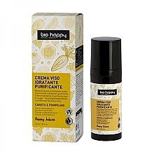 Perfumería y cosmética Crema facial hidratante y purificante con aceite de zanahoria y pomelo - Bio Happy Face Cream
