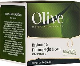 Perfumería y cosmética Crema de noche de aceite de oliva - Frulatte Olive Restoring Firming Night Cream