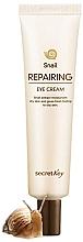 Perfumería y cosmética Crema reafirmante para contorno de ojos con extracto de baba de caracol - Secret Key Snail Repairing Eye Cream