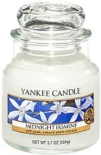 Perfumería y cosmética Vela aromática en tarro de cristal, jazmín nocturno - Yankee Candle Midnight Jasmine