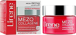 Perfumería y cosmética Crema de día hidratante con aceite de macadamia, efecto lifting - Lirene Mezo Collagene