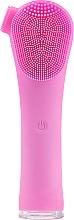 Perfumería y cosmética Cepillo de limpieza facial eléctrico de silicona, rosa - Lewer BR-010 Forever Hand Held Electric Cleaning Brush