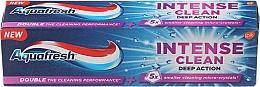 """Perfumería y cosmética Pasta dental """"Limpieza profunda"""" con fluoruro - Aquafresh Intense Clean Deep Action Toothpaste"""