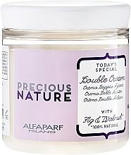 Perfumería y cosmética Crema acondicionadora de cabello 100% natural con extracto de higo y aceite de nuez - Alfaparf Precious Nature Double Cream