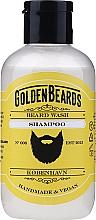 Perfumería y cosmética Champú para barba vegano - Golden Beards Beard Wash Shampoo