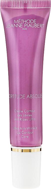 Crema antiedad para contorno de labios con extracto de avena - Methode Jeanne Piaubert Certitude Absolue Ultra Anti-Wrinkle Lip Contour Care — imagen N2
