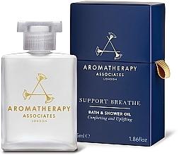 Perfumería y cosmética Aceite de baño y ducha de pino, árbol de té y eucalipto - Aromatherapy Associates Support Breathe Bath & Shower Oil