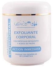 Perfumería y cosmética Exfoliante corporal con partículas exfoliantes y ácidos frutales - Verdimill Professional Exfoliant Body Cream