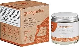 Perfumería y cosmética Pasta dental natural con aceite de mandarina y coco - Georganics Red Mandarin Natural Toothpaste