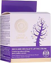 Perfumería y cosmética Crema reafirmante para cuello y escote aceite orgánico de germen de trigo - Natura Siberica Anti-Age