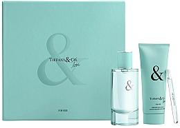 Perfumería y cosmética Tiffany & Co Tiffany & Love For Her Gift Set - Set (eau de parfum/90ml + eau de parfum/mini/4ml + loción corporal/100ml)