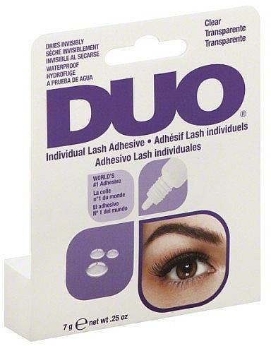 Pegamento para pestañas postizas resistente al agua, transparente - Duo Individual Lash Adhesive