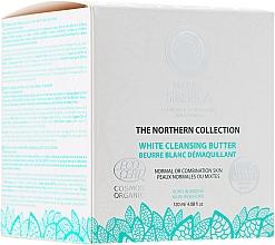 Perfumería y cosmética Manteca limpiadora facial con arcilla blanca y aceite ecológico de lino - Natura Siberica The Northern Collection White Cleansing Butter