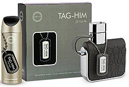 Perfumería y cosmética Armaf Tag Him For Men - Set (desodorante/200ml + eau de toilette/100ml)