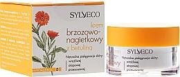 Perfumería y cosmética Crema facial hipoalergénica con extracto de caléndula y abedul - Sylveco Birch And Marigold Day Cream With Betulin