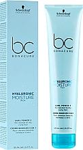 Perfumería y cosmética Crema definidora de rizos con ácido hialurónico 5en1 - Schwarzkopf Professional Bonacure Hyaluronic Moisture Kick Curl Power 5