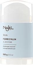 Perfumería y cosmética Desodorante stick natural - Najel Alumstone Deodorant Stick