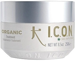 Perfumería y cosmética Tratamiento capilar orgánico con aceite CBD 1000mg - I.C.O.N. Organic Treatment