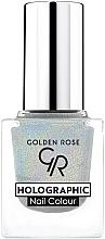 Perfumería y cosmética Esmalte de uñas holográfico - Golden Rose Holographic Nail Colour