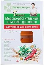 Perfumería y cosmética Tratamiento en ampollas para crecimiento del cabello con climbazol y propóleo - Las recetas de la abuela Agafia