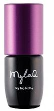 Perfumería y cosmética Top coat gel matificante, UV/LED - MylaQ My Top Matte