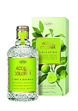 Perfumería y cosmética Maurer & Wirtz 4711 Aqua Colognia Lime & Nutmeg - Agua de colonia
