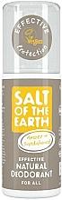 Perfumería y cosmética Desodorante natural en spray con ámbar y sándalo - Salt of the Earth Amber & Sandalwood Natural Deodorant Spray