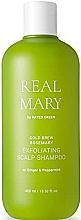 Perfumería y cosmética Champú exfoliante con agua de romero y extracto de jengibre - Rated Green Real Mary Exfoliating Scalp Shampoo
