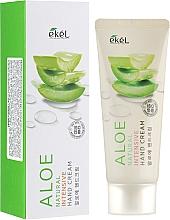 Perfumería y cosmética Crema de manos con extracto de aloe - Ekel Natural Intensive Aloe Hand Cream