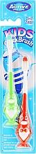 Perfumería y cosmética Cepillo dental infantil de dureza suave, verde y rojo, 2uds., Pingüino - Beauty Formulas Kids Quick Brush