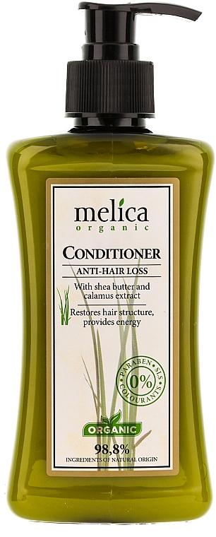Acondicionador anticaída orgánico con extracto de cálamo y manteca de karité - Melica Organic Anti-Hair Loss Conditioner