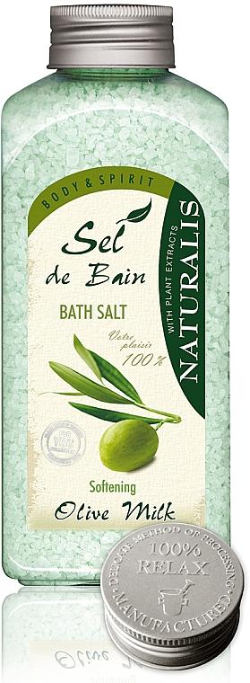 Sales de baño con leche de oliva - Naturalis Sel de Bain Olive Milk Bath Salt