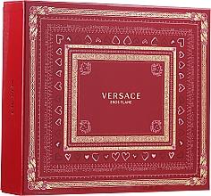 Perfumería y cosmética Versace Eros Flame - Set (eau de parfum/100 ml + gel de ducha/150 ml + eau de parfum/10ml)
